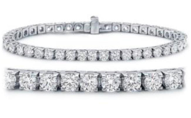 Bratara Tennis Bracelet Crystallized Swarovski Elements