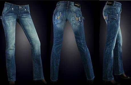 Jeansi albastri BeltArt
