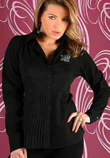 Camasa office neagra