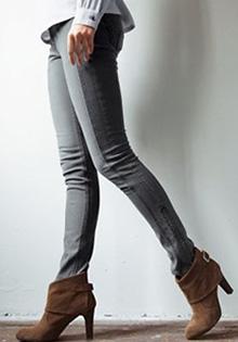 Jeansi skinny stretch cu 5 buzunare
