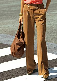 Pantaloni largi pentru toamna 2011 la 3 Suisses