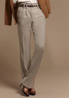 Pantaloni masculini din flanel pentru toamna 2011