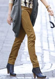 Pantaloni slim pentru toamna 2011 la 3 Suisses