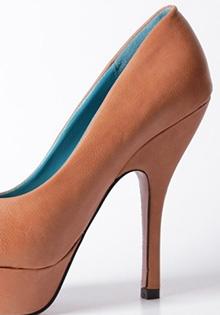 Pantofi camel Miruna
