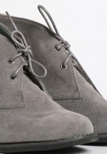 Pantofi gri oxford