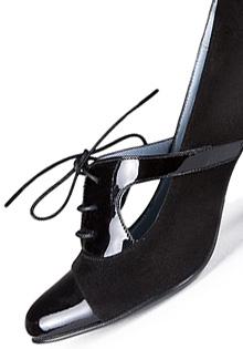 Pantofi negri oxford