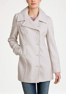 Palton lung de toamna