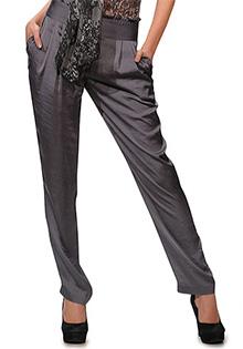 Pantaloni gri conici