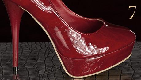 Pantofi rosii la Starshiners