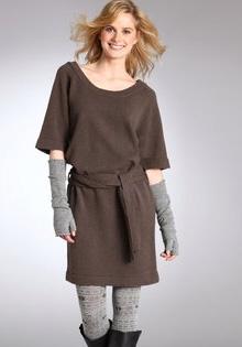 Rochie pulover croiala dreapta
