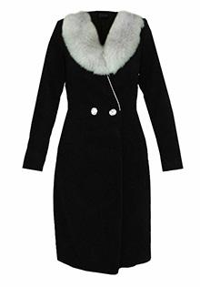 Palton din velur la Tara Fashion