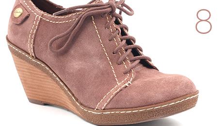 Pantofi Clarks by Otter Dark Sand