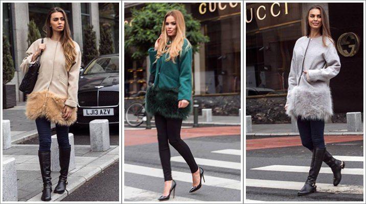 Palton scurt blana London