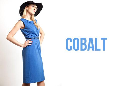 Cobalt Dress Cucuun Fashion