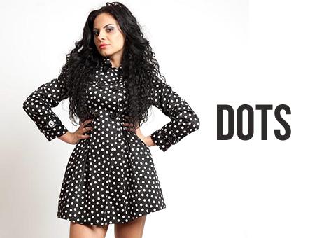 Fashionable Dots Coat
