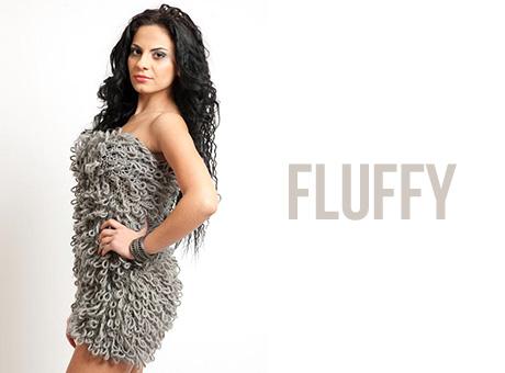 Fluffy Dress Cucuun Fashion