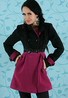 Paltoane colorate: Roz