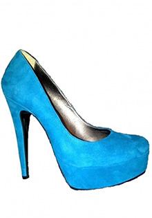 Pantofi turcoaz Glamour by A.T.