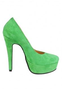 Pantofi verzi Glamour by A.T.