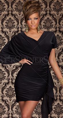 Rochie Diva Smile Black