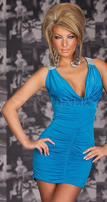 Rochie Sensual Lady Blue