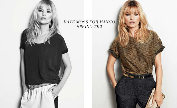 Kate Moss for Mango. Spring 2012