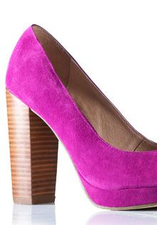Pantofi primavara 2012: Toc masiv