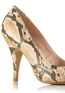 Pantofi primavara 2012: Animal print