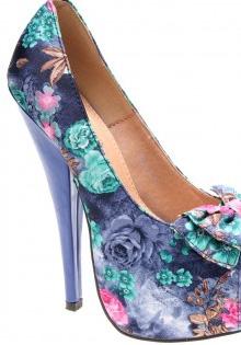 Pantofi primavara 2012: Print floral