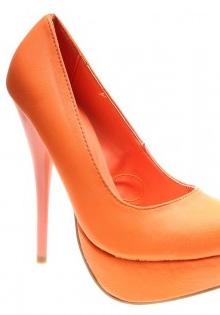 Pantofi primavara 2012: portocaliu