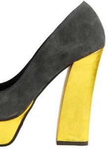 Pantofi primavara 2012: Neon