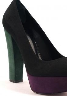 Pantofi primavara 2012: Toc gros