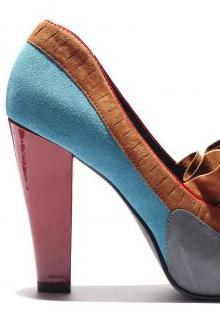 Pantofi primavara 2012: Mix Multicolor
