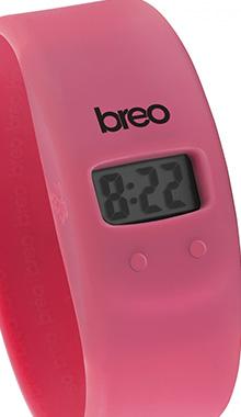 Ceas Breo roz