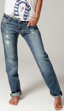 Jeans de dama tip boyfriend