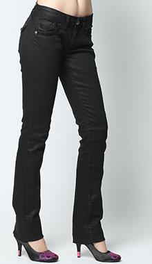 Jeans negru Monica Kaporal5