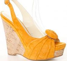 Sandale portocalii Sunny