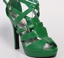 Sandale verzi Ana-Maria