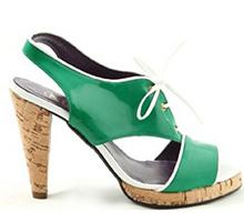 Sandale verzi Claudia
