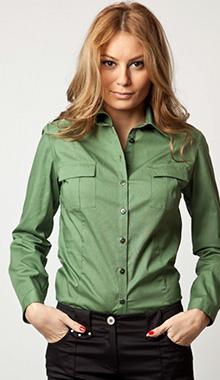 Camasa Eponge verde militar