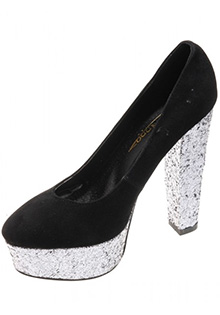 PANTOFI DE DAMA BLACK VELVET PARTY