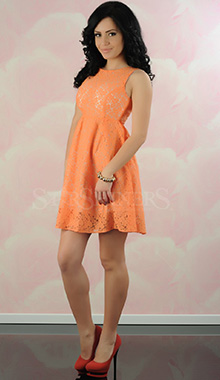 Rochie Spring Love Coral