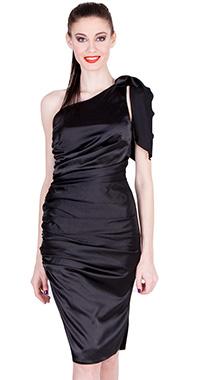 Rochie de ocazie neagra Ama Fashion