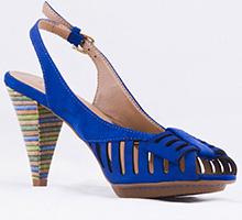 Sandale Epica bleumarin din nubuck