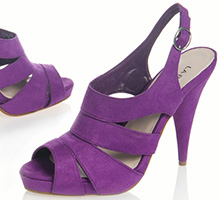 Sandale cu toc La Redoute