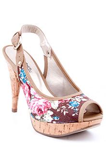 Sandale OTTER cu imprimeu floral