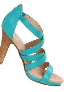 Sandale cu toc Crocs Thrilita