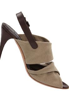 Sandale cu toc Vera Wang George
