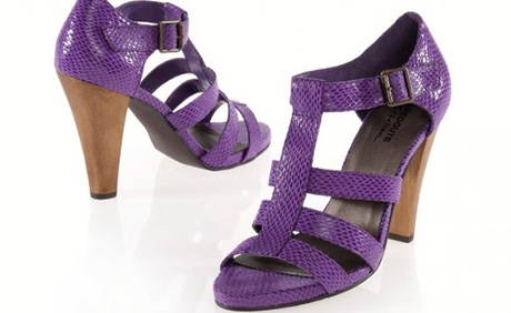 Sandale dama 2012 cu toc gros