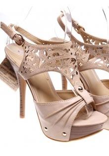 Sandale de dama beige Creative